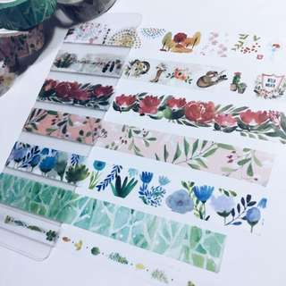 Repacked Washi Tape -- Morning