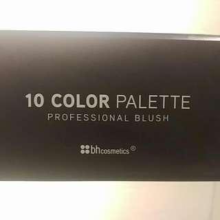 BH Cosmetics 10 Colour Pallete Blush