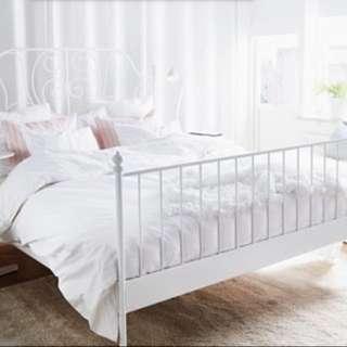 IKEA LEIRVIK Queen Sized Bed Frame
