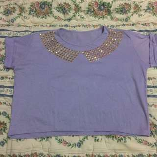 Coral Studded Shirt