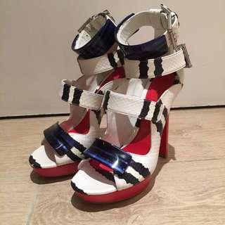 McQueen Strap Heels
