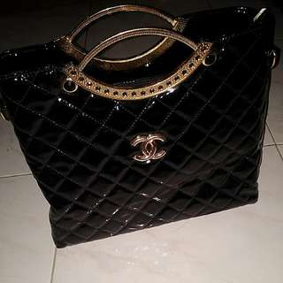 Tas Chanel Hitam/black