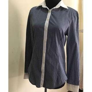 Zara Basic Checkered Ladies Shirt