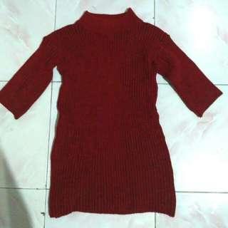 Rajut Knit Maroon