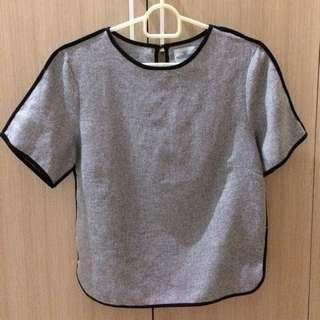 Grey Casual Top
