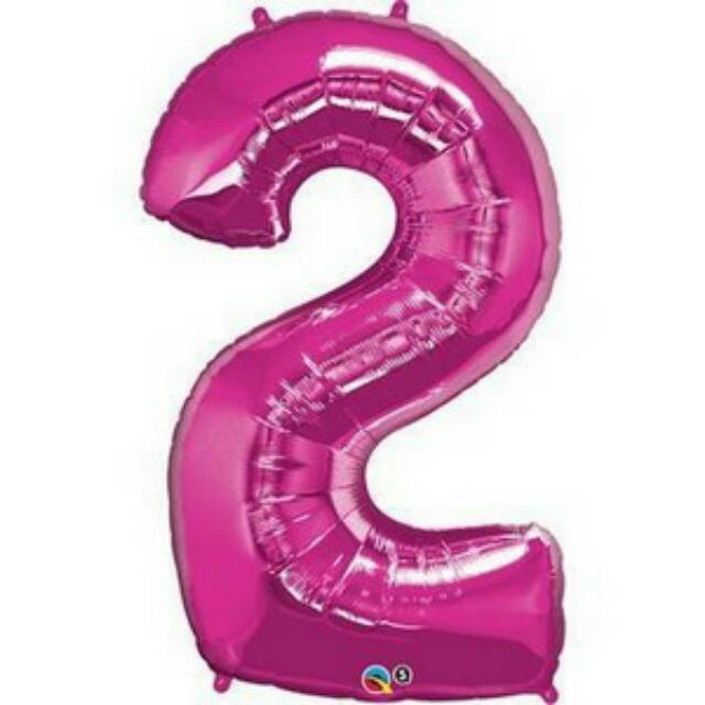 22nd Birthday Helium Balloons