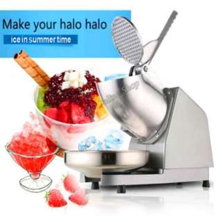 New 2017 Electric Ice Crusher Shaver Machine Snow Cone Maker Shaved Ice
