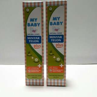 MY BABY Minyak Telon Plus (90ml) 6hrs Protection From Mosquito Bites (Mosquito Repellent)