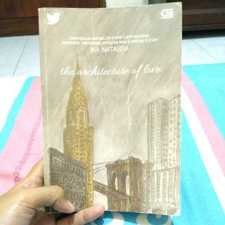 The Architecture of Love -Ika Natassa