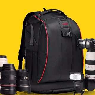 Caden K7 Backpack For DSLR Back Open