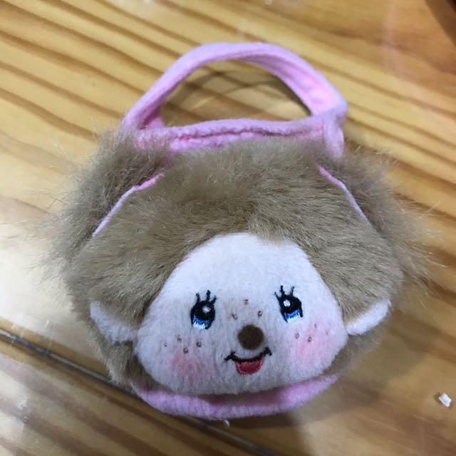 日本夢奇奇包-放耳機線、唇膏-可掛包包