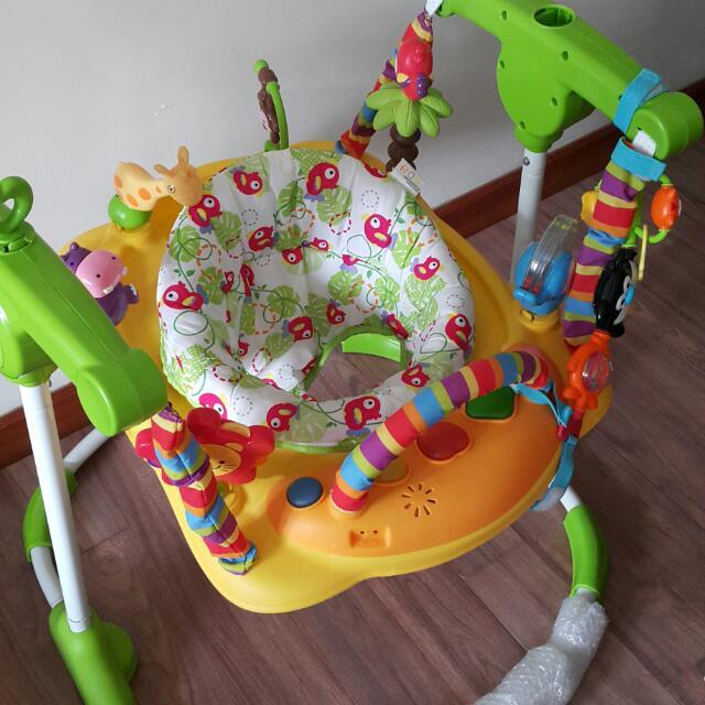 嬰兒培訓跳躍及平衡玩具