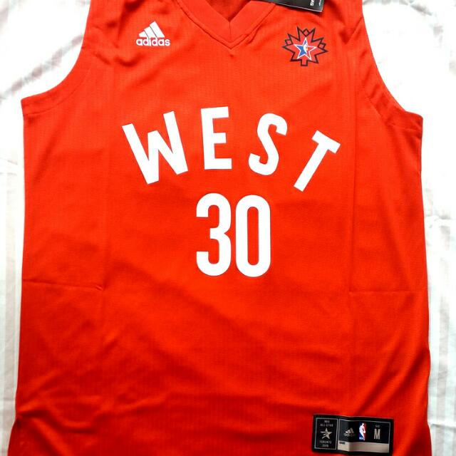 huge discount 2c18e 00345 Adidas 2016 NBA AllStar Steph Curry Jersey on Carousell
