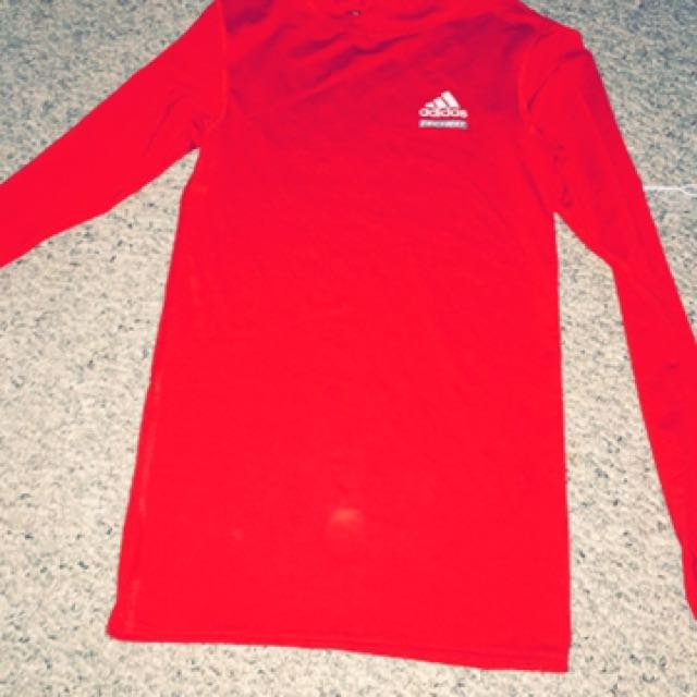 Adidas Dry Fit Long Sleeve Top
