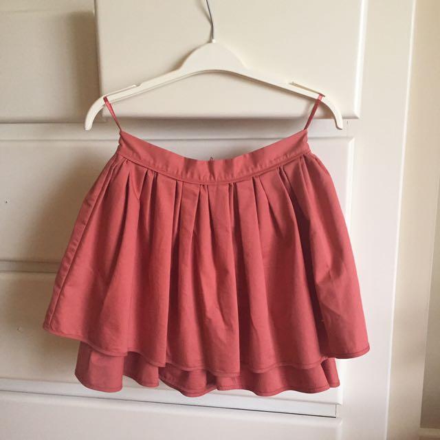 Adorable Layered Skirt