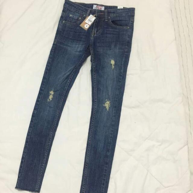American Jeans - Ripped Denim Jeans