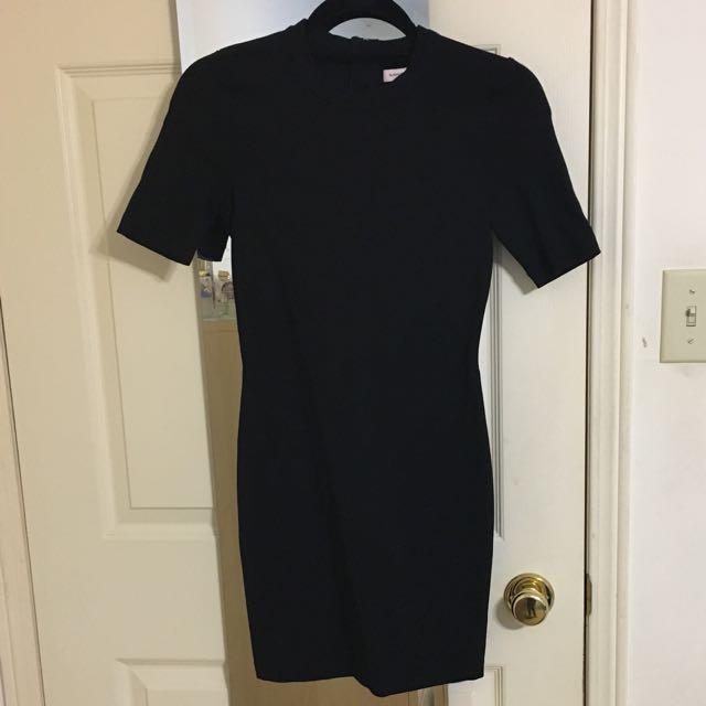 Aritzia Black Dress