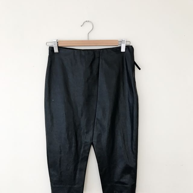 Aritzia Vegan Leather Skirt