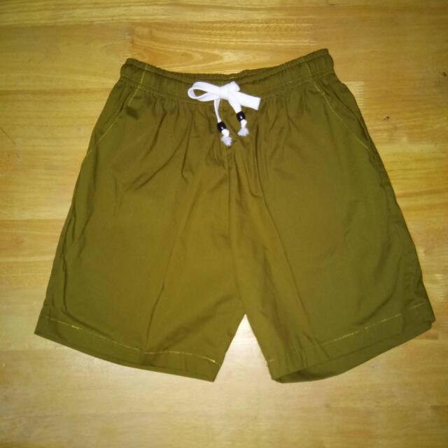 ARMY GREEN SUMMER SHORTS