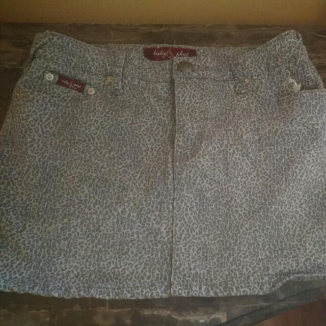 Baby Phat Jeans Skirt