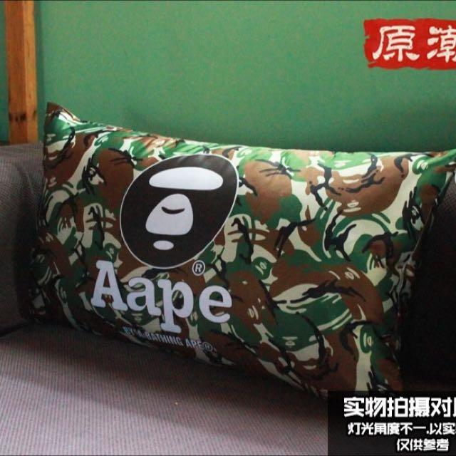 Bape 猿頭客廳沙發靠枕