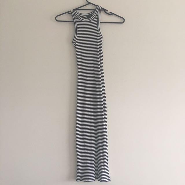Bardot Body Fit Stripes Dress