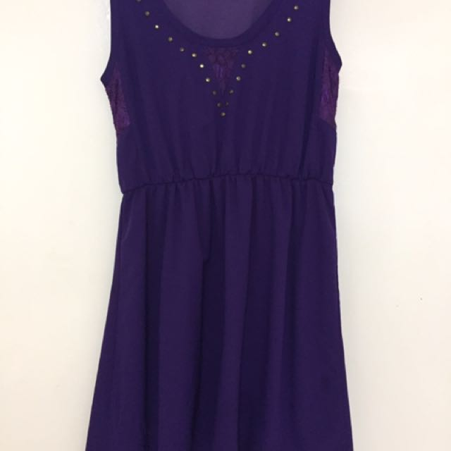 Bayo Purple Dress