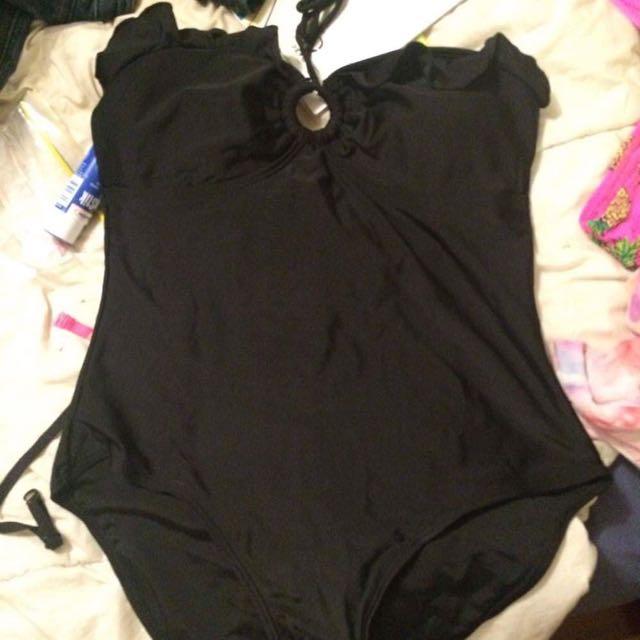 Black Bathing Suit