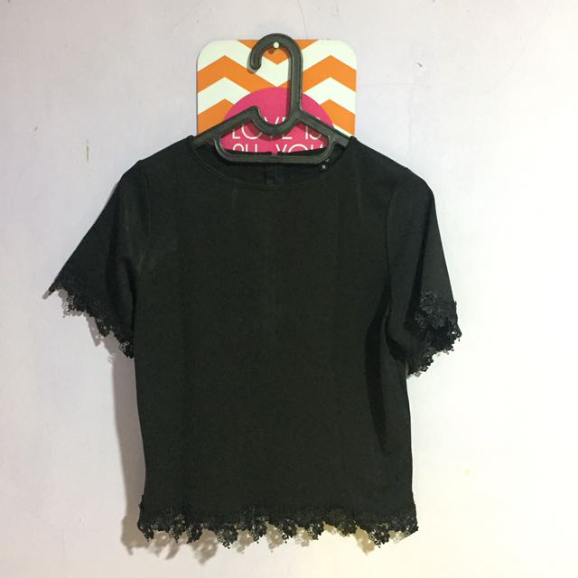Black Blouse - Mds