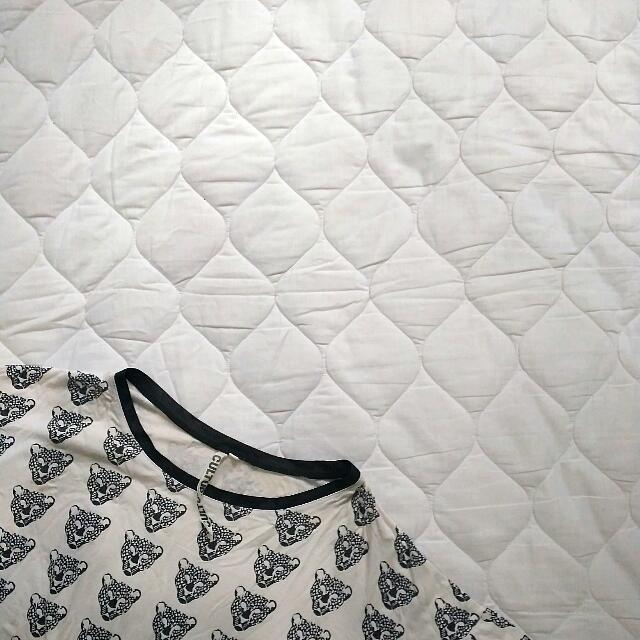 Black N White Tiger Shirt