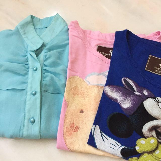 Blouse +2 Tshirt