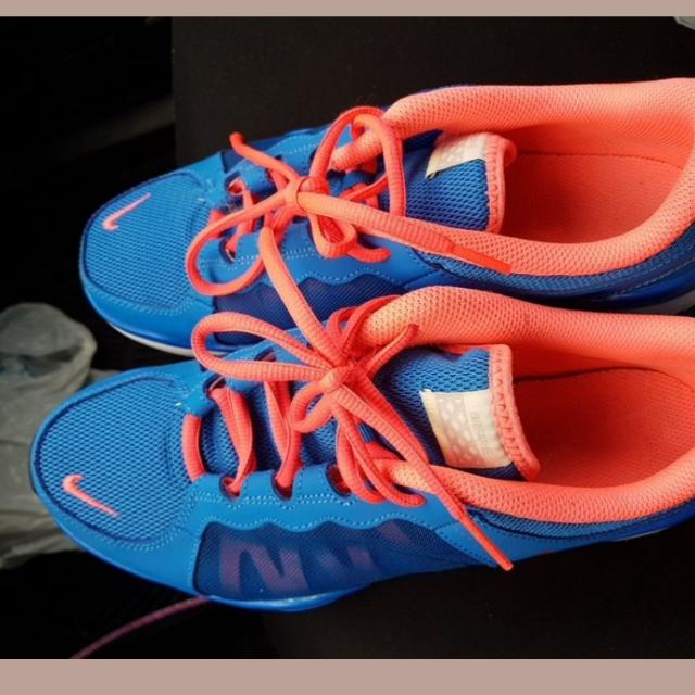 Blue / Coral Nike Running Shoes
