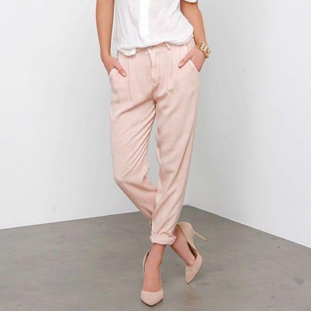 Blush Pink Trousers F21