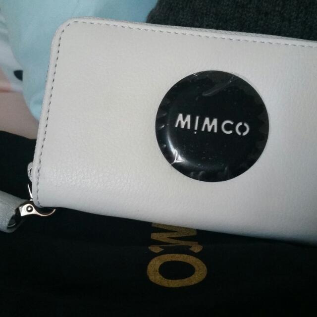 💕BNWT Mimco Zip Tech Purse