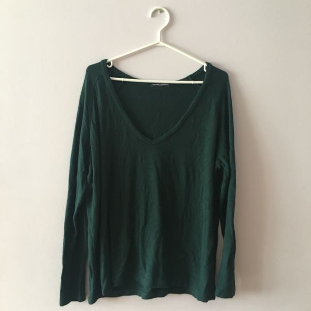 Brandy Melville Pine Green Sweater