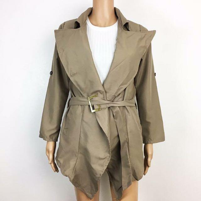 Brown Lightweight Coat