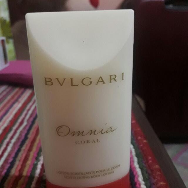 BVLGARI Coral Body Lotion