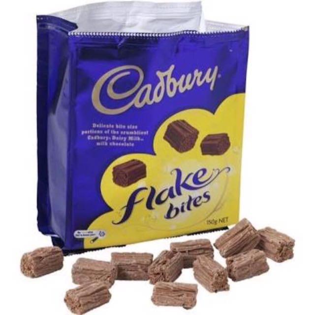 Cadbury Flake Bites