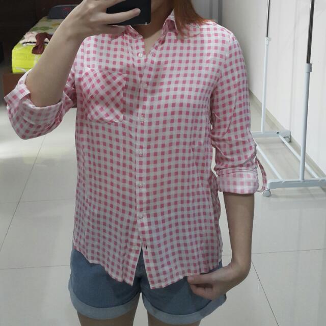 CARLA Pink Blouse