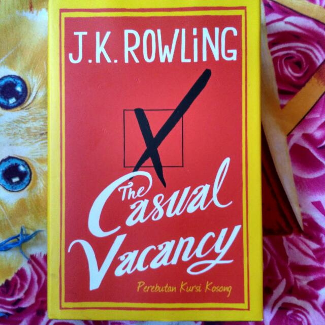 Casual Vacancy JK Rowling