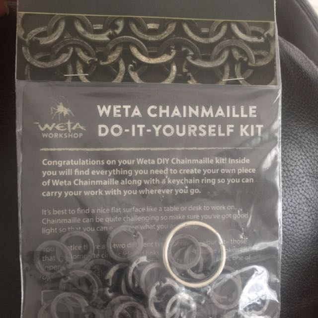 Chainmaille keychain from weta workshop in nz design craft photo photo photo photo solutioingenieria Image collections