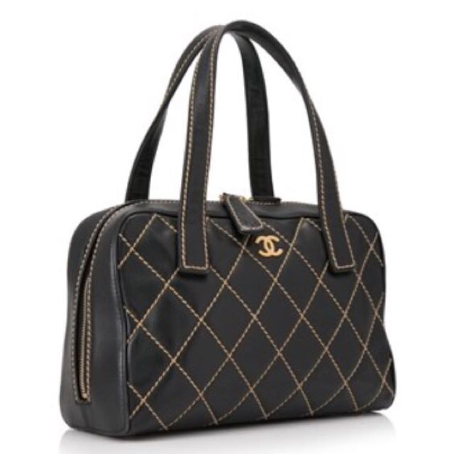 Chanel Quilted Wild Stitch Bag