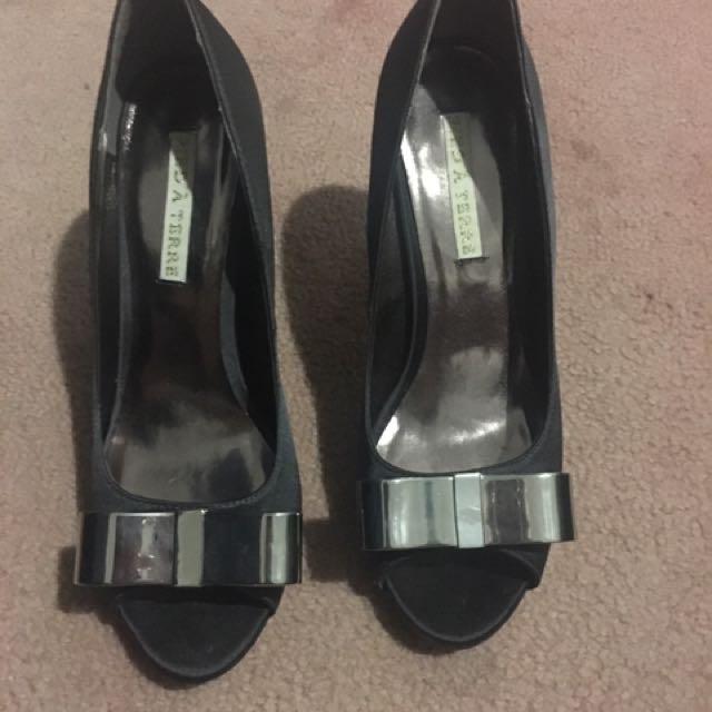 Charcoal Size 9 Heels