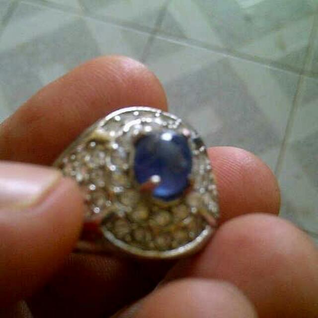 (REPRICE) CINCIN BLUE SAPHERE/safir