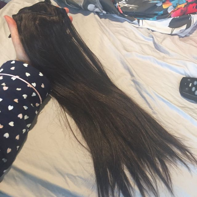 Clip In 100% Human Hair Extensions