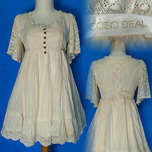 Coco Deal Cream Dress