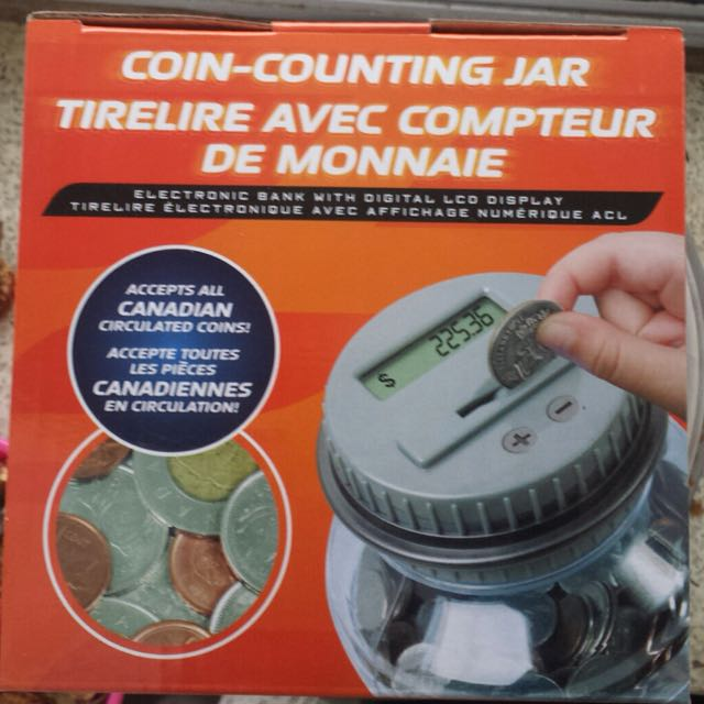 Coin Collecting Jar