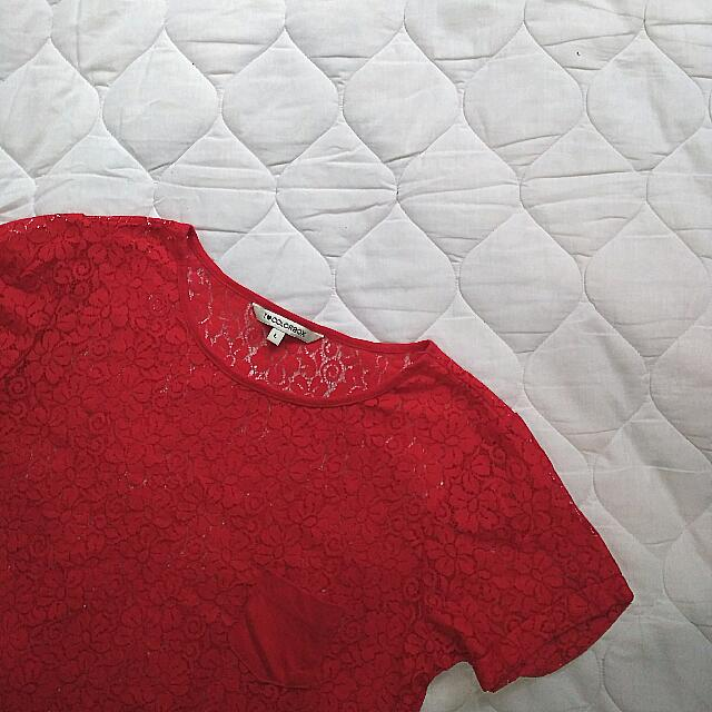 Colorbox Lace Top