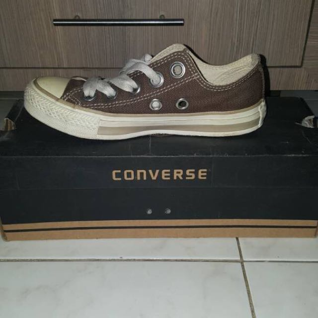 Converse Low Brown