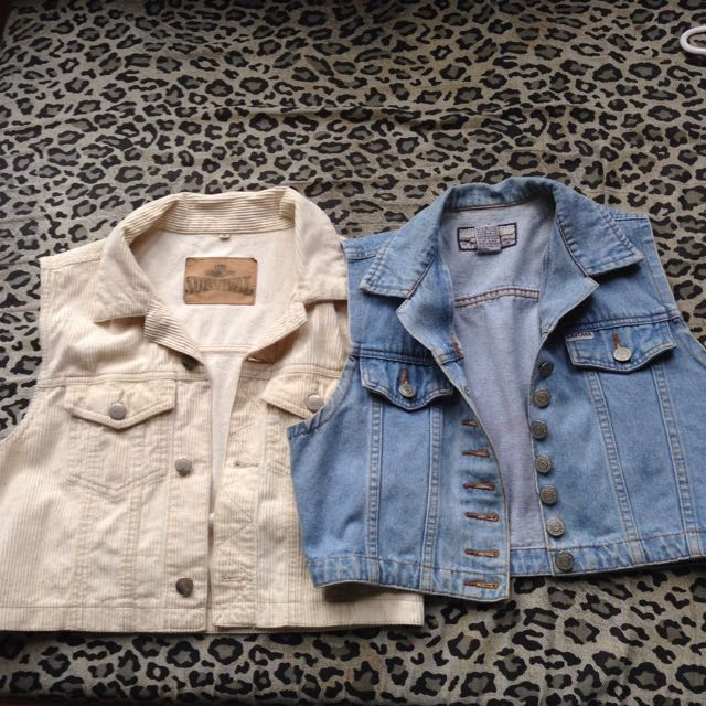 Cropped Overtop Jackets